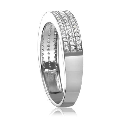 sterling silver multi row s wedding band sgmr00123rh