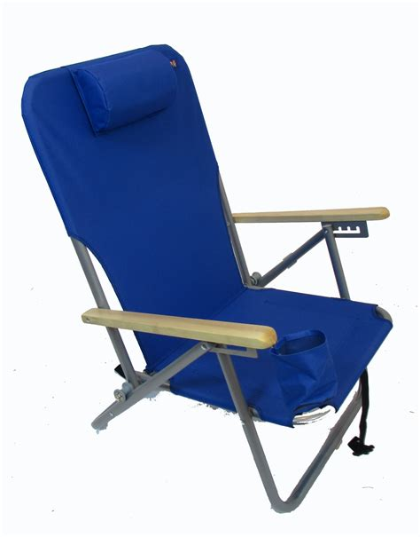 4 position steel backpack chair by jgr copa