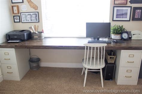 diy file cabinet desk www pixshark images