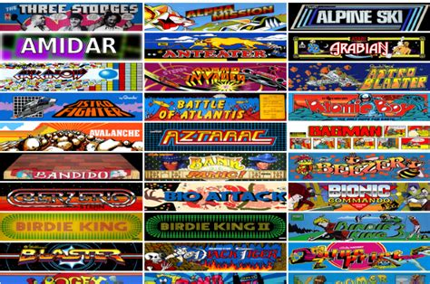 Free Online Arcade Games internet archive offers 900 classic arcade games for