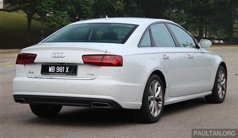 Audi A6 1 8 by Driven 2015 Audi A6 1 8 Tfsi Is Cheaper Better Image