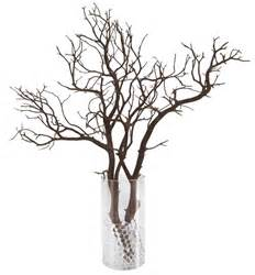 Branches For Vases by Manzanita Branch Centerpiece Pack 15 Branches