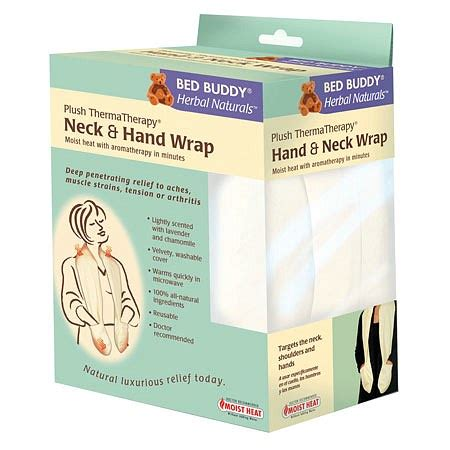 bed buddy neck wrap bed buddy herbal naturals neck hand wrap walgreens