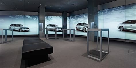 audi digital showroom audi city car showroom of the future digital force
