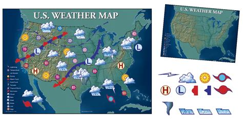 weather usa map map frey scientific cpo science