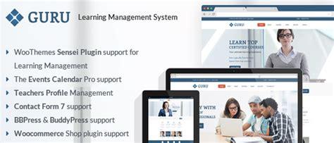 download themes guru guru learning management wordpress theme
