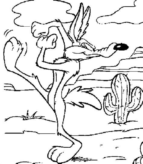 Dessin 224 Colorier Coloriage Animaux Bip Bip Et Le Coyote
