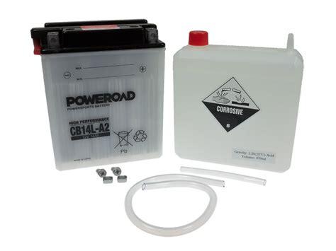 Motorradbatterie Kawasaki Z750 by Batterie Poweroad Yb14l A2 14ah Kawasaki Z 750 Ltd