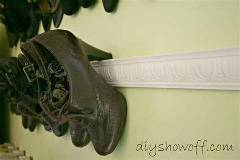 diy high heel shoe rack 28 clever diy shoes storage ideas that will save your time