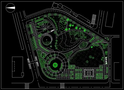 landscape layout cad 69 best urban design planning drawings download square