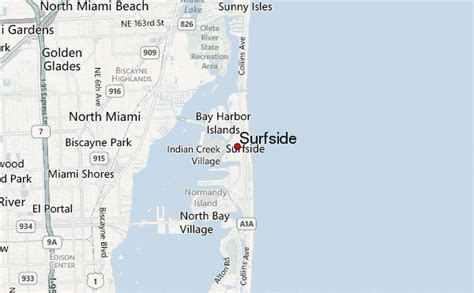 surfside map surfside location guide