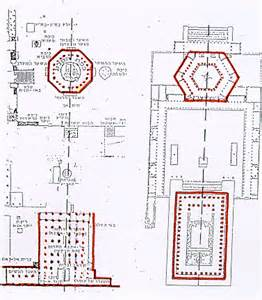 Dome Of The Rock Floor Plan Temples Of Mount Moriah