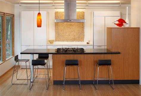 modern eat  kitchen designs home design lover