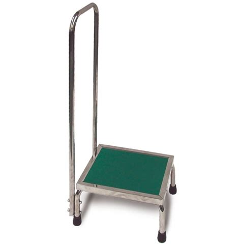Stainless Steel Step Stool With Handrail by Mri Stainless Steel Doctor Stool With Casters