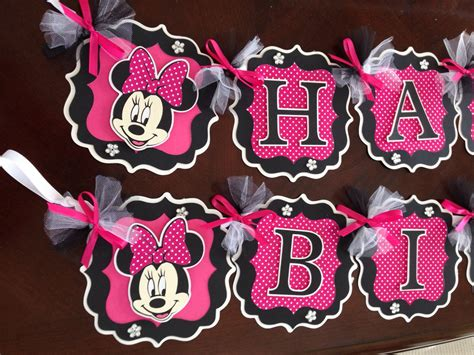 And Black Minnie Mouse Decorations minnie mouse decorations pink black minnie mouse