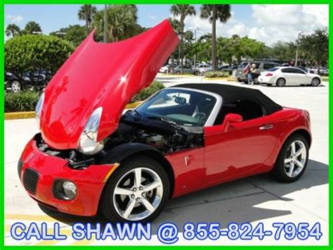 what was the last year for pontiac find used 2009 pontiac solstice gxp only 16 000miles 1