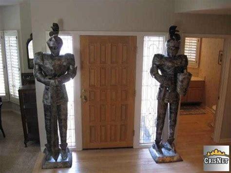 Is The Neighborhood That Bad Hooked On Houses Front Door Statues