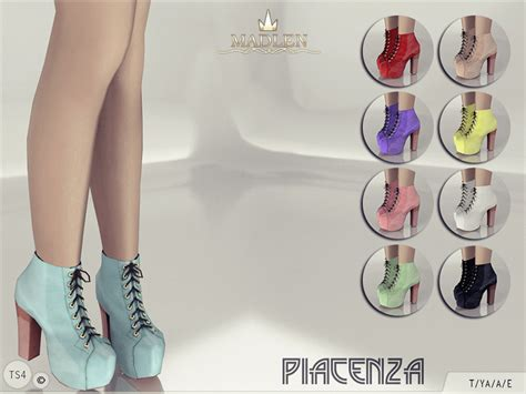 sims 4 shoes the sims resource mj95 s madlen piacenza boots