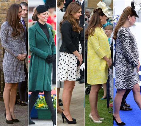 Kate Middleton Pregnancy Wardrobe by Kate Middleton S Month By Month Pregnancy Style