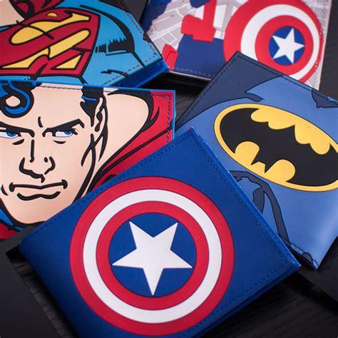 Mini Wallet Character Batman comics dc marvel the wallets captain america iron