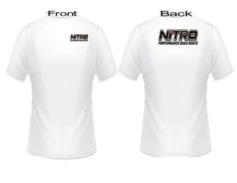 nitro boats clothing nitro boat black logo t shirt ebay