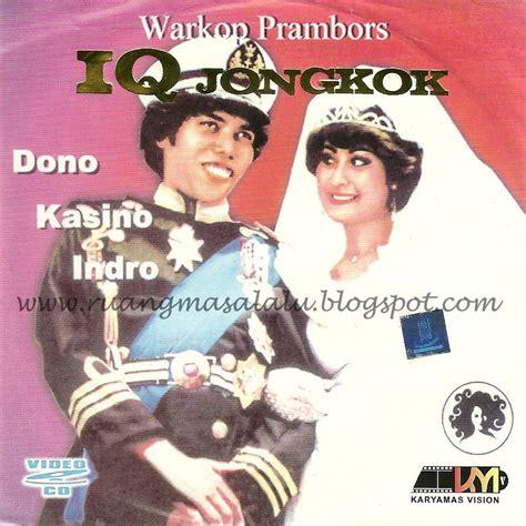 Kaset Warung Kopi Prambors jual fullset koleksi dvd warung kopi warkop dki prambors millenium kaset lawak kaskus