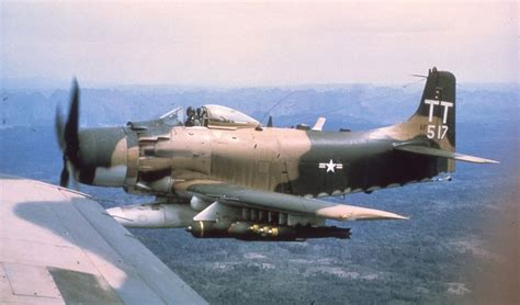 boat crash douglas a 1h skyraider sandy he u s air force used the naval a