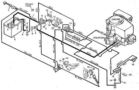 craftsman lt 2000 mower wiring diagram craftsman