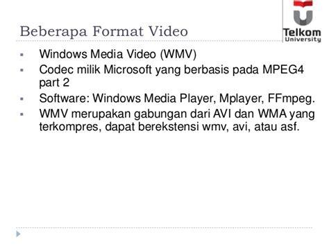 mpeg4 adalah format video slide minggu 9 video