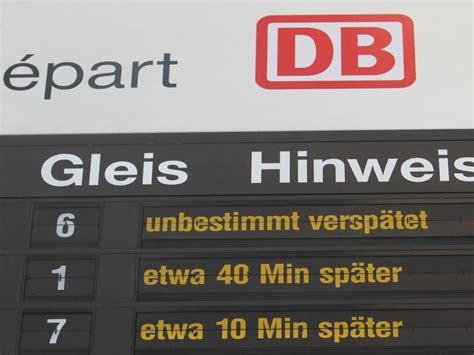 wann streikt die deutsche bahn bei versp 228 tung wann zahlt die bahn f 252 rs taxi