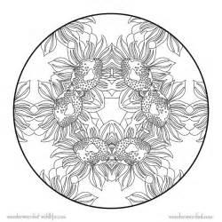 flower mandala coloring pages printable sunflower mandala 5 free printable flower mandala coloring