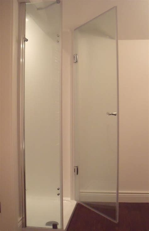 Hinged Shower Doors Frameless Shower Hinged Door 800mm