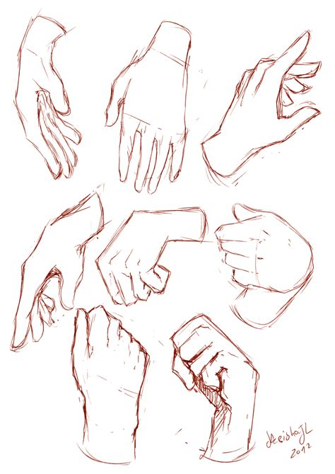 anime hand hands sketches by keishajl on deviantart