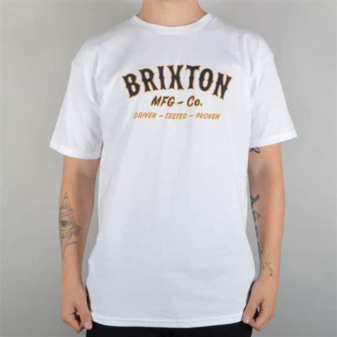T Shirt Brixton Wisata Fashion Shop brixton harold t shirt white skate clothing from