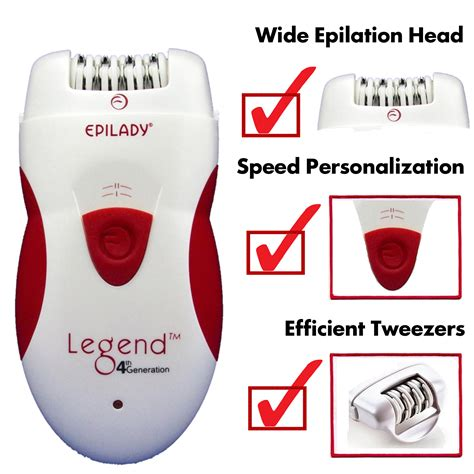 best epilator of 2015 reviews of the top rated epilators epilady legend 4 rechargeable epilator epilady reviews