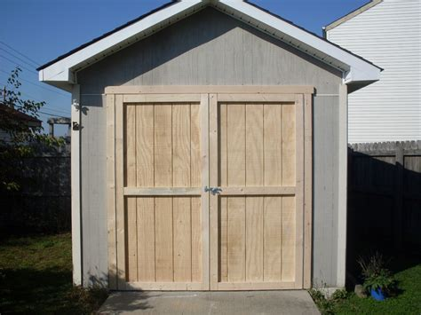 overhead small garage doors  sheds