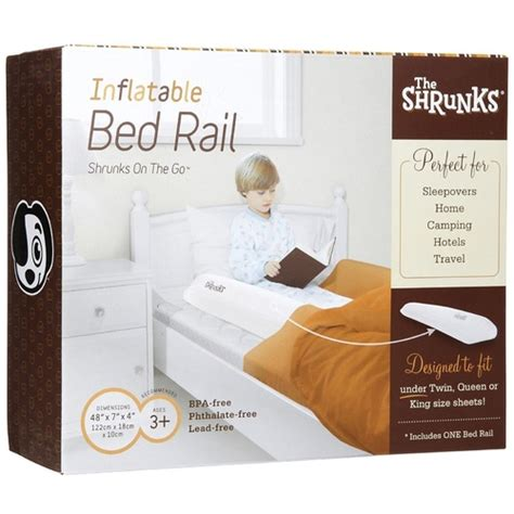 baby fell out of bed shrunks travel bed rail keeps children safe from falling