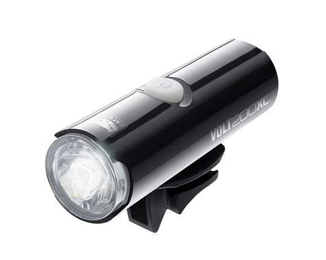 cateye volt 200 xc rechargeable front light merlin cycles