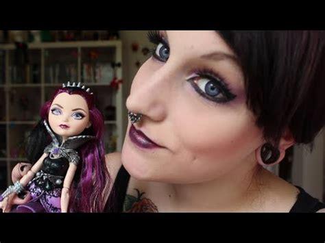 makeup tutorial raven queen raven queen makeup tutorial ever after high youtube