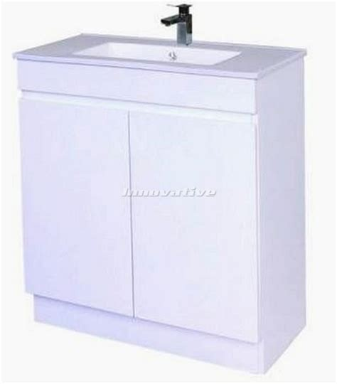 Narrow Vanity Basin by Bathroom Vanity Narrow 750wx390mm Basin Ceramic Top 2