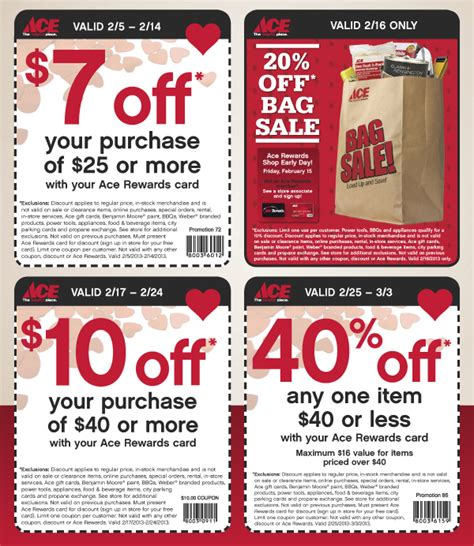 ace hardware voucher ace hardware 4 printable coupons see all ace hardware coupons