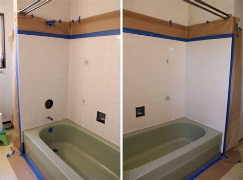 spraying a bathtub to spray or not to spray a bathtub that is the