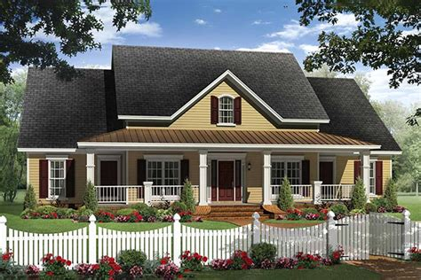 farmhouse style house plan 4 beds 2 5 baths 2336 sq ft