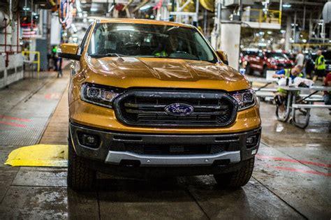 ford production 2020 ford ranger production kicks at michigan assembly