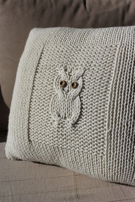 Modele Coussin Tricot
