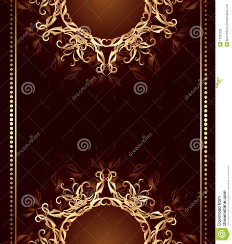 design background for jewelry jewelry design on a dark brown background stock
