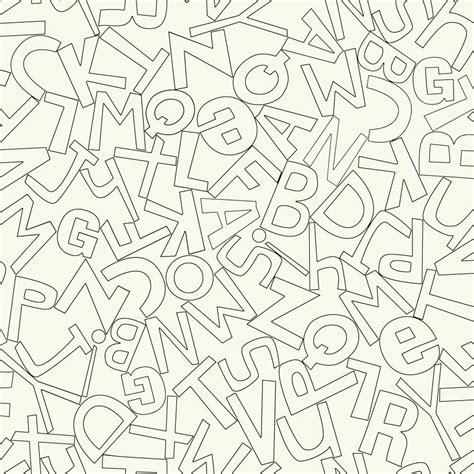 York Wallcoverings Waverly Kids Alphabet Soup Wallpaper ... E Alphabet Wallpapers