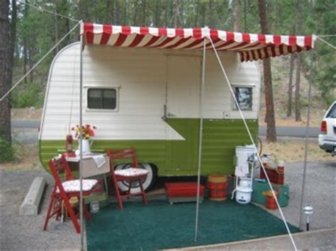 where to buy awnings girl cing an awning for your vintage trailer