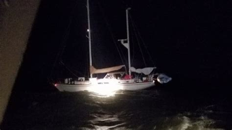 boat salvage hurricane michael flipboard boating uscg conducts first rescues of