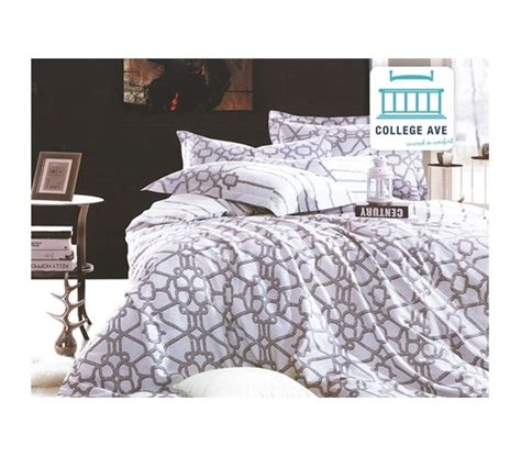twin xl comforters for college latticework twin xl comforter set college ave designer